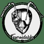 logo fourmidables noir 832x811px