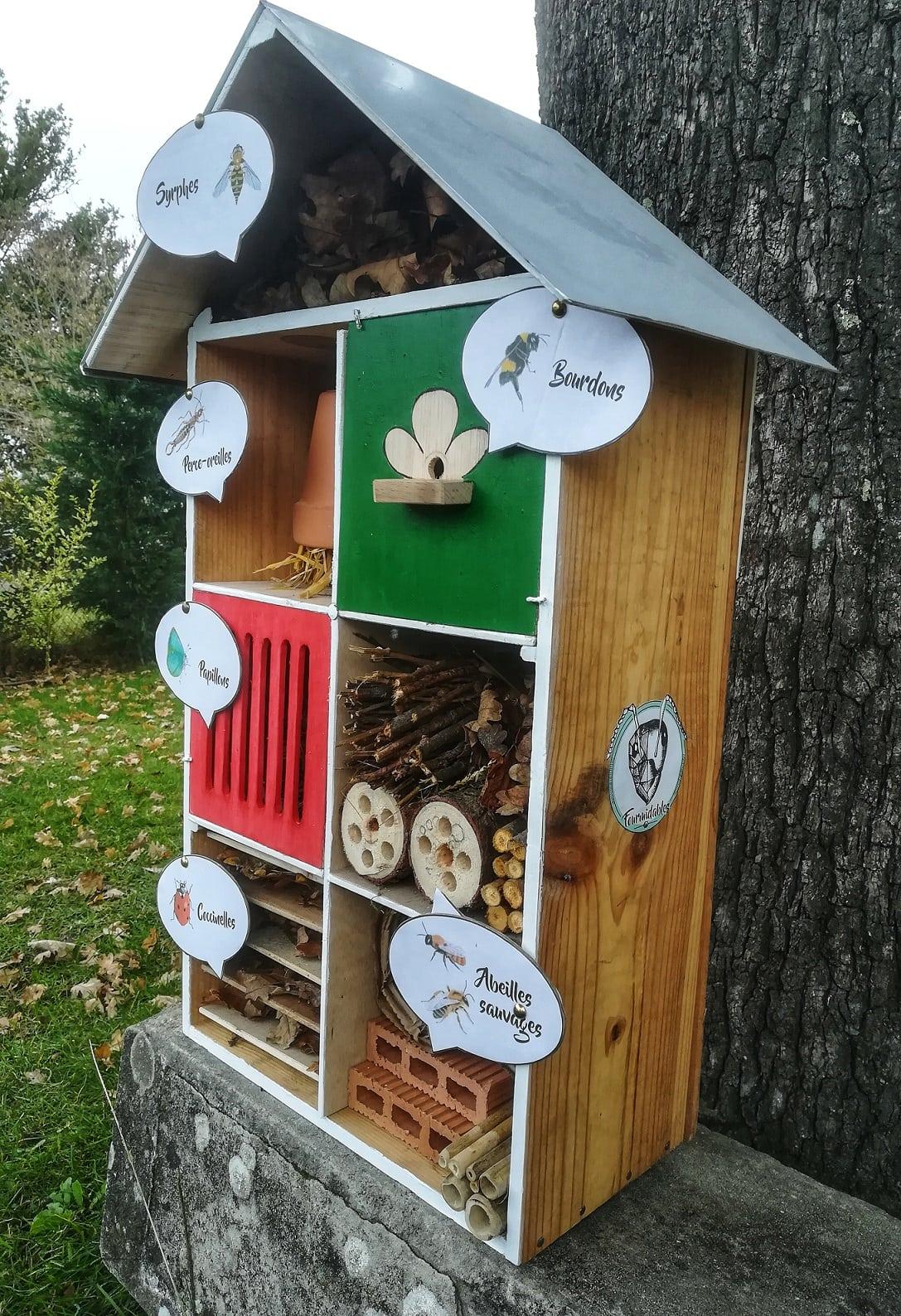 Zines: Les refuges à insectes